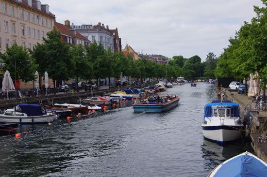 Kanal på Christianshavn