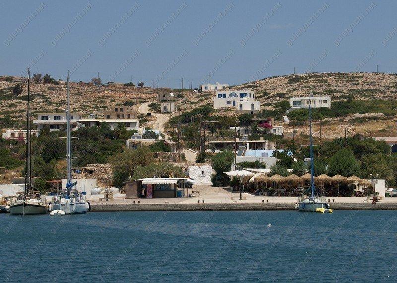 Arki Island Greece Greek Dodecanese Islands