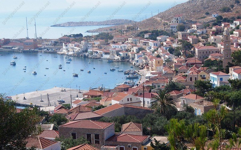 Chalki Island Greece Greek Dodecanese Islands