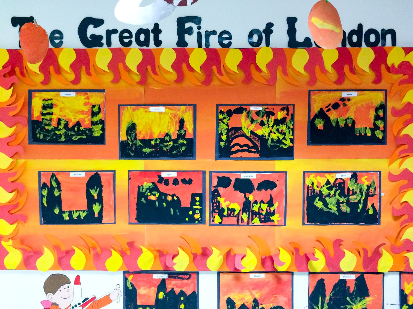 Year 2 Pupils Learn About The Great Fire Of London