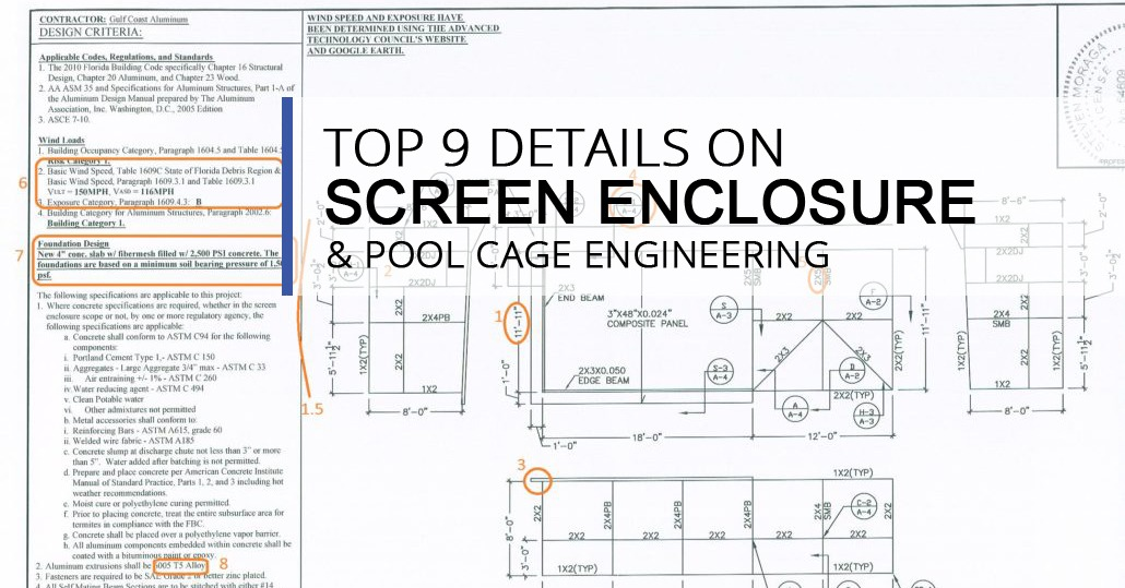 Top 9 Details On Screen Enclosure Amp Pool Cage Engineering