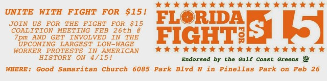 Florida Fight for $15 Google Plus Event Banner