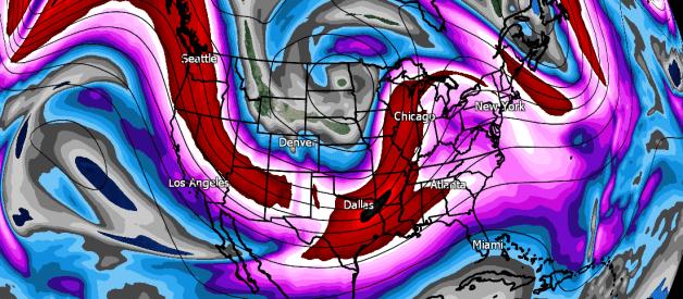 Severe Weather, Beneficial Rainfall Still Likely Across Gulf Coast Region Tomorrow Through Wednesday