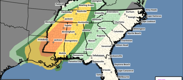 Severe Weather Likely this Afternoon, Overnight Tonight