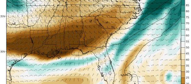 Front to Bring Drier Air Mass