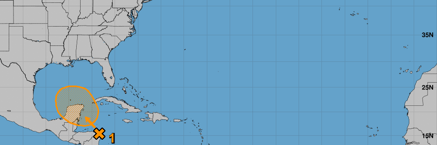 Tropical Update: Northwest Caribbean/Gulf Development Looking Likely This Weekend, Early Next Week