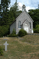 St Paul's Catholic Church, Fulford Harbour, Saltspring Island