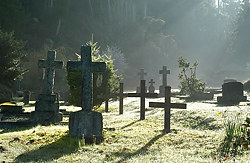 Cemetery, Mayne Island, British Columbia