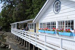 Harbour Grill Restaurant, Galiano Island, British Columbia