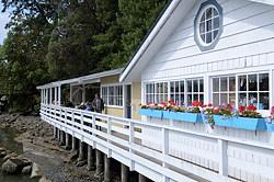 Harbour Grill Restaurant, Galiano Island, British Columbia