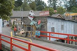 Funky Fulford Harbour, Salt Spring Island, British Columbia