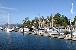 Otter Bay Marina, North Pender Island, British Columbia