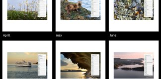 Gulf Islands 2010 Calendar Wallpaper