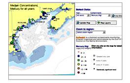 Gulfwatch map