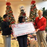 Gulf Power donates each year to the Communities Caring at Christmas effort in Escambia, Santa Rosa and Okaloosa counties.