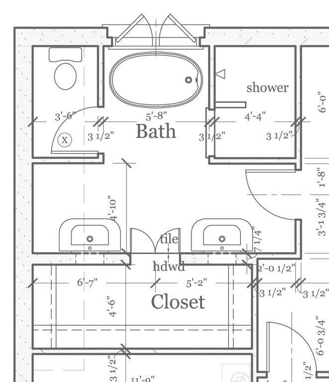 Blog Archive Master Bathroom