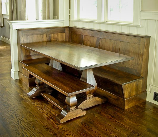 Kitchen nook bench seat. don freeman i2i banquet bench seating ...