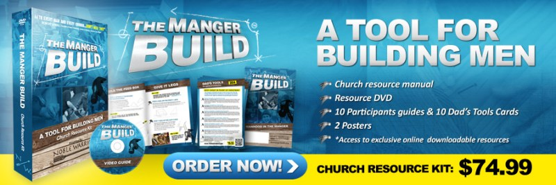 Resource Kit and detailed instructions for the Manger Build for Churches.