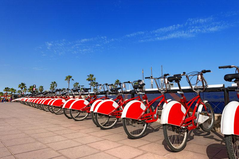 Barcelona - bicicleta pública