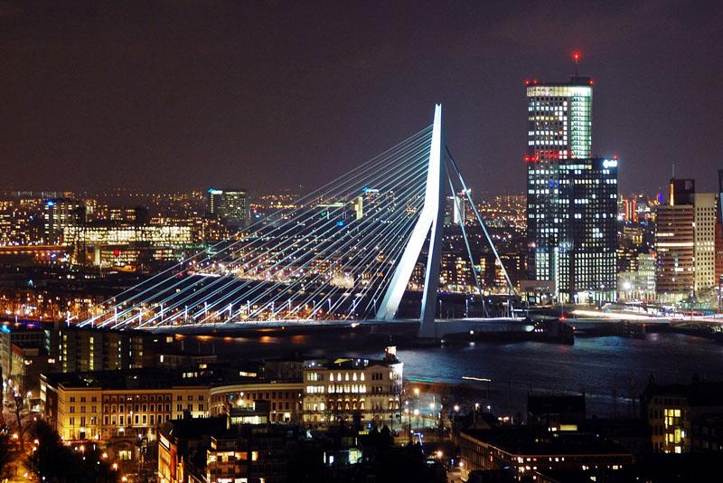 Rotterdam - Ersamusbrug