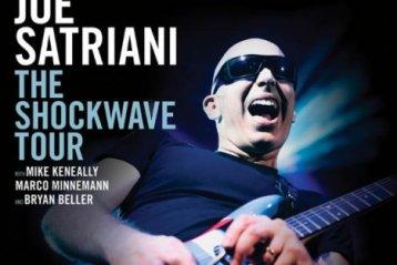 """Joe Satriani presenta en España """"Shockwave Supernova"""""""