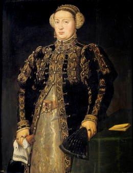 Antonio Moro. Doña Catalina de Austria, mujer del Juan III de Portugal. Sala 56 del Museo del Prado