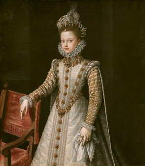 Alonso Sánchez Coello. La infanta Isabel Clara Eugenia. Sala 56 del Museo del Prado