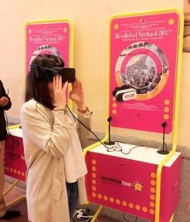 Es la primera vez en el mundo que la Realidad Virtual se utiliza para recrear el ambientes taurinos