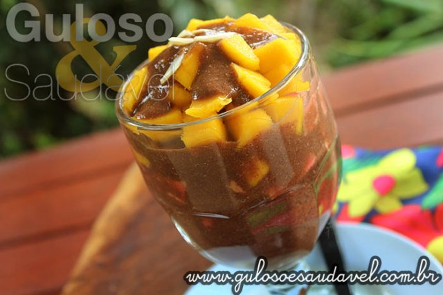 Receita de Smoothie Tropical de Cacau