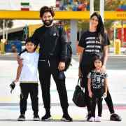 Pics: Allu Arjun's Family Holiday In Dubai