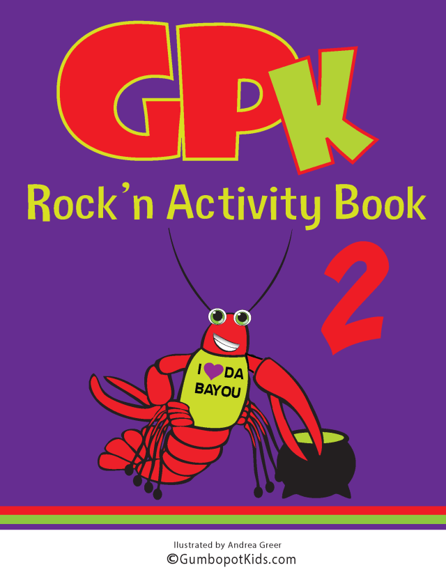 GPK ROCK'N ACTIVITY BOOK 2
