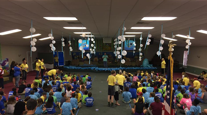 Gum Branch Baptist Church VBS