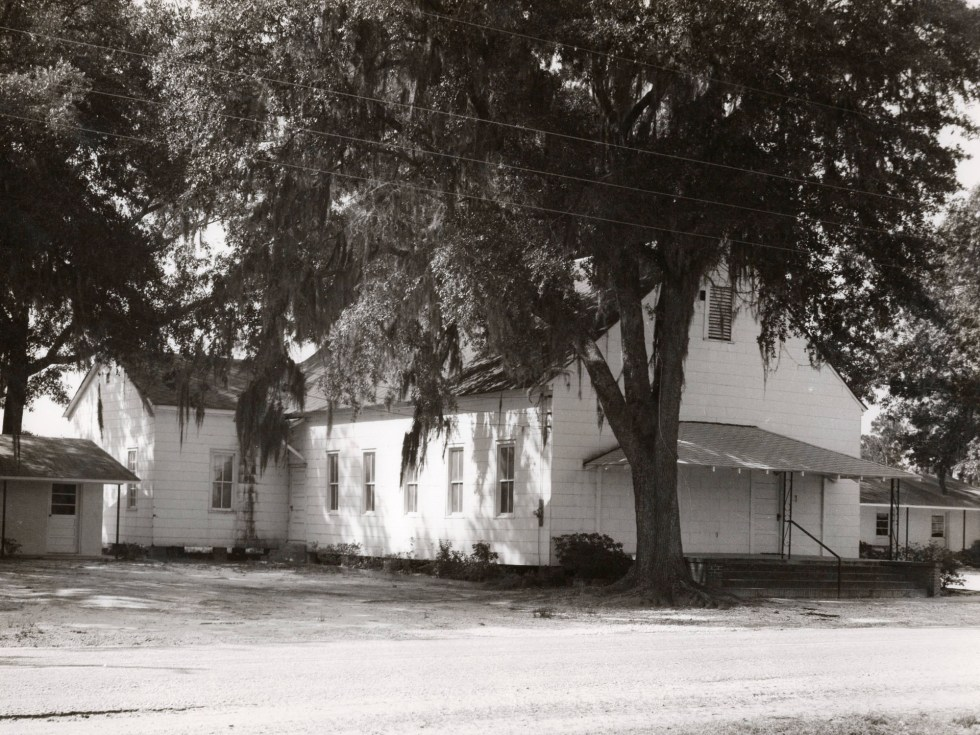 Historic Image of Gum Branch Baptist Church