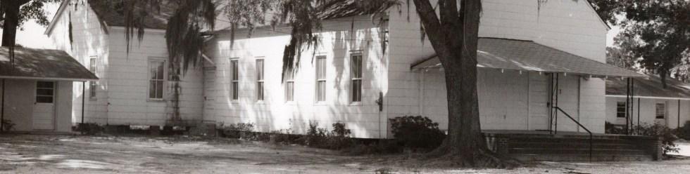 Gum Branch Baptist Church - Historical Image of the Sanctuary
