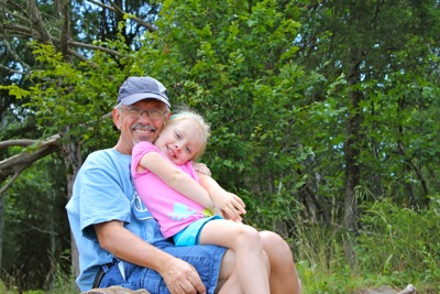 Hiking with Granddaddy