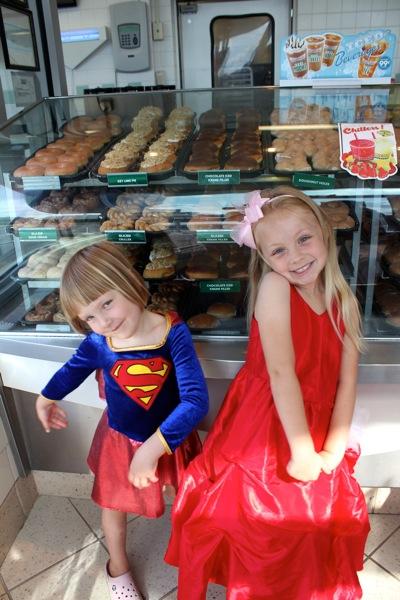Krispy Kreme in Kostume