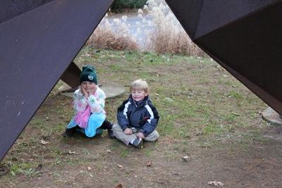 Under the Sculpture