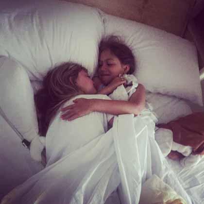 Snuggles with Ellanor