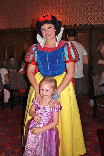 Our Princess with Snow White
