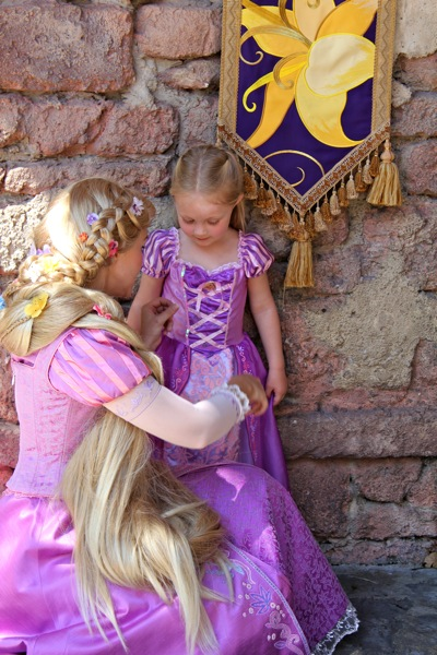 Camille and Rapunzel