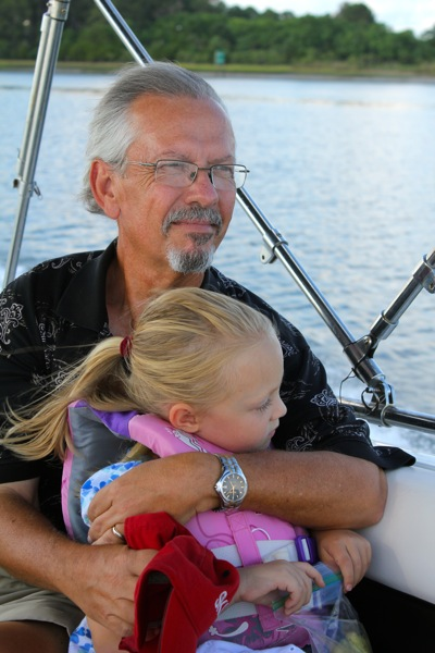 With Granddaddy on the Water