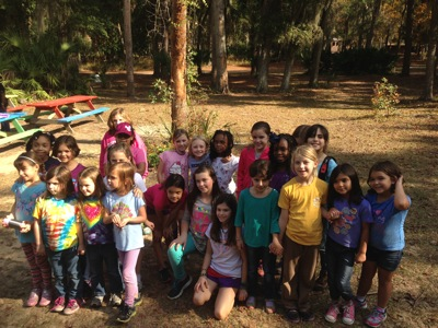Camille's Girl Scout Troop