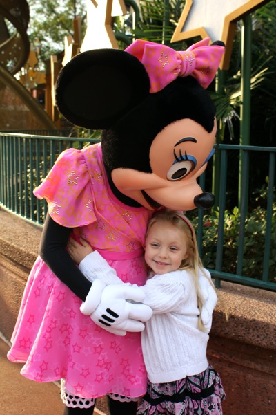 With Minnie