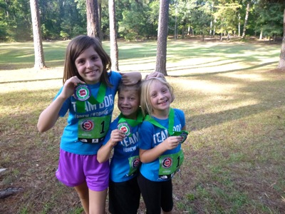 Trail Race Finishers!
