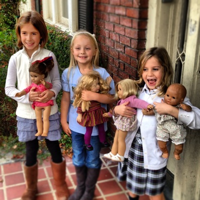 Headed for an American Girl Adventure