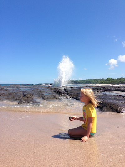 Blowhole in the Rock