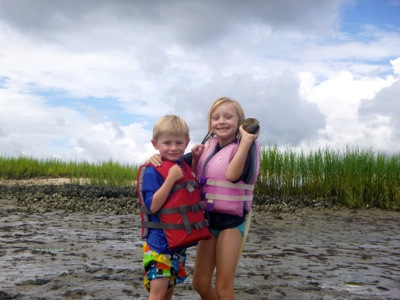 Finding Shells on Mud Island