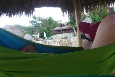 In the Hammock Hut