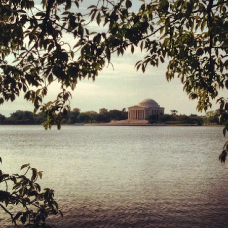 DC Run - The Jefferson Memorial