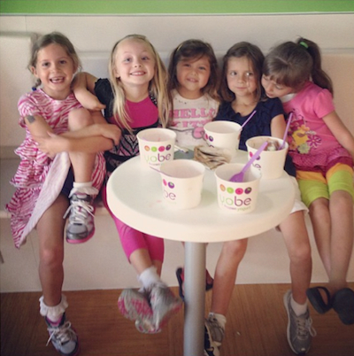 Last Day of Kindergarten FroYo